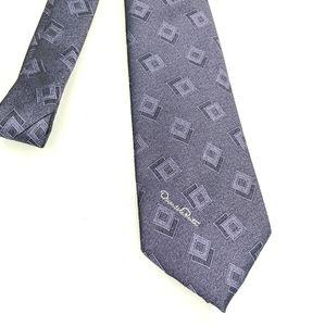 Oscar De La Renta Purple Tie